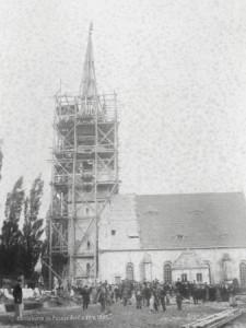 Kirche Possendorf 1885